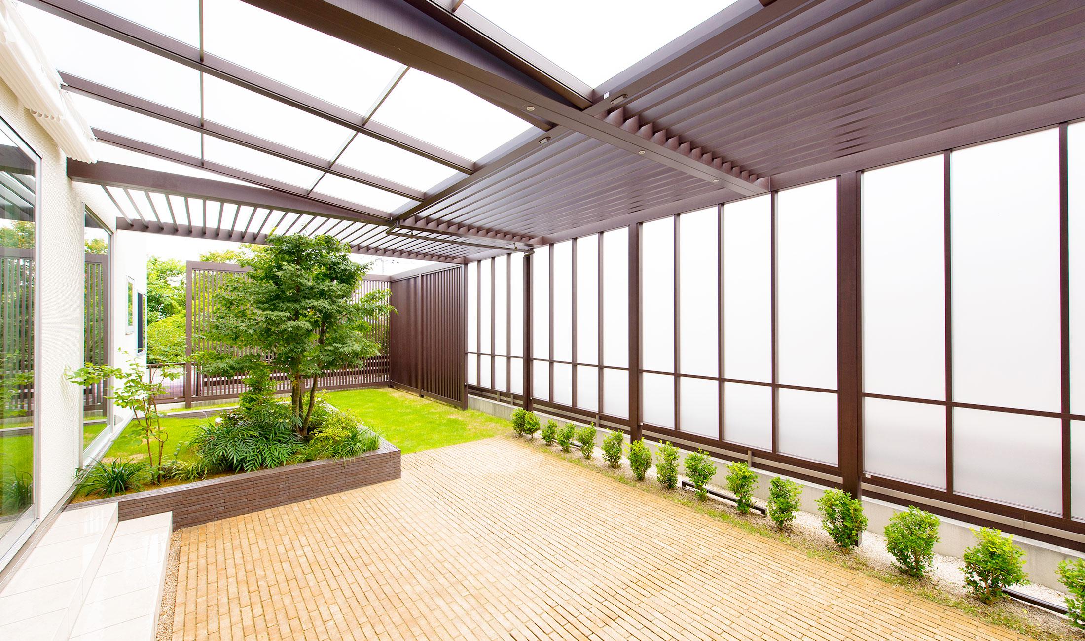 ライフスタイルの幅が広がるガーデンリフォーム|エクステリアリフォーム施工事例