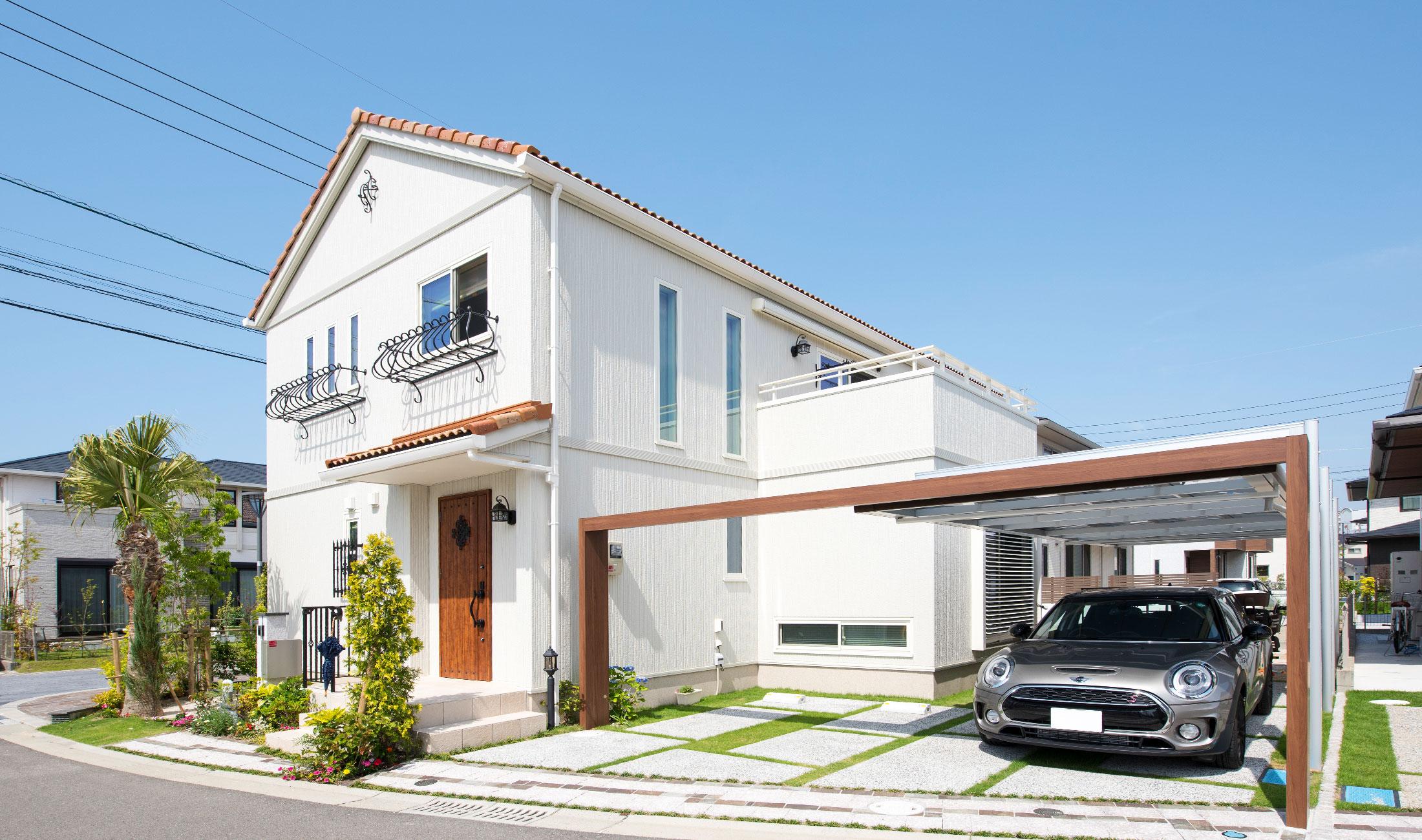 アウトドアが楽しめる家 福岡のエクステリア 外構 ガーデン工事専門 カエデスタイル
