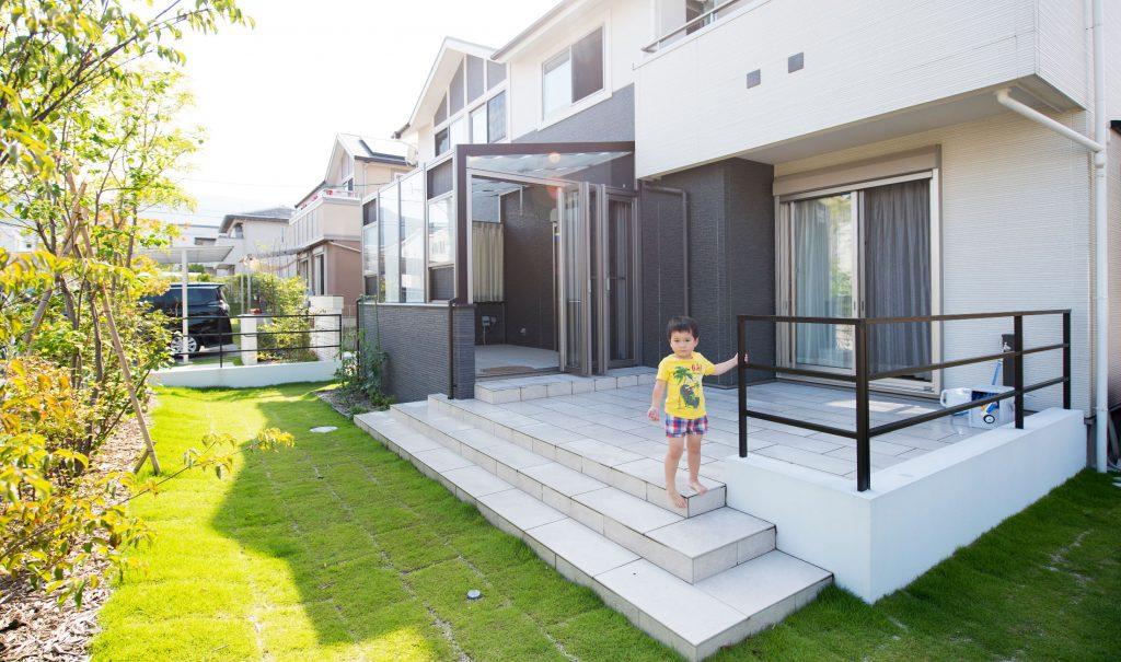 外を間取る家|エクステリアリフォーム施工事例