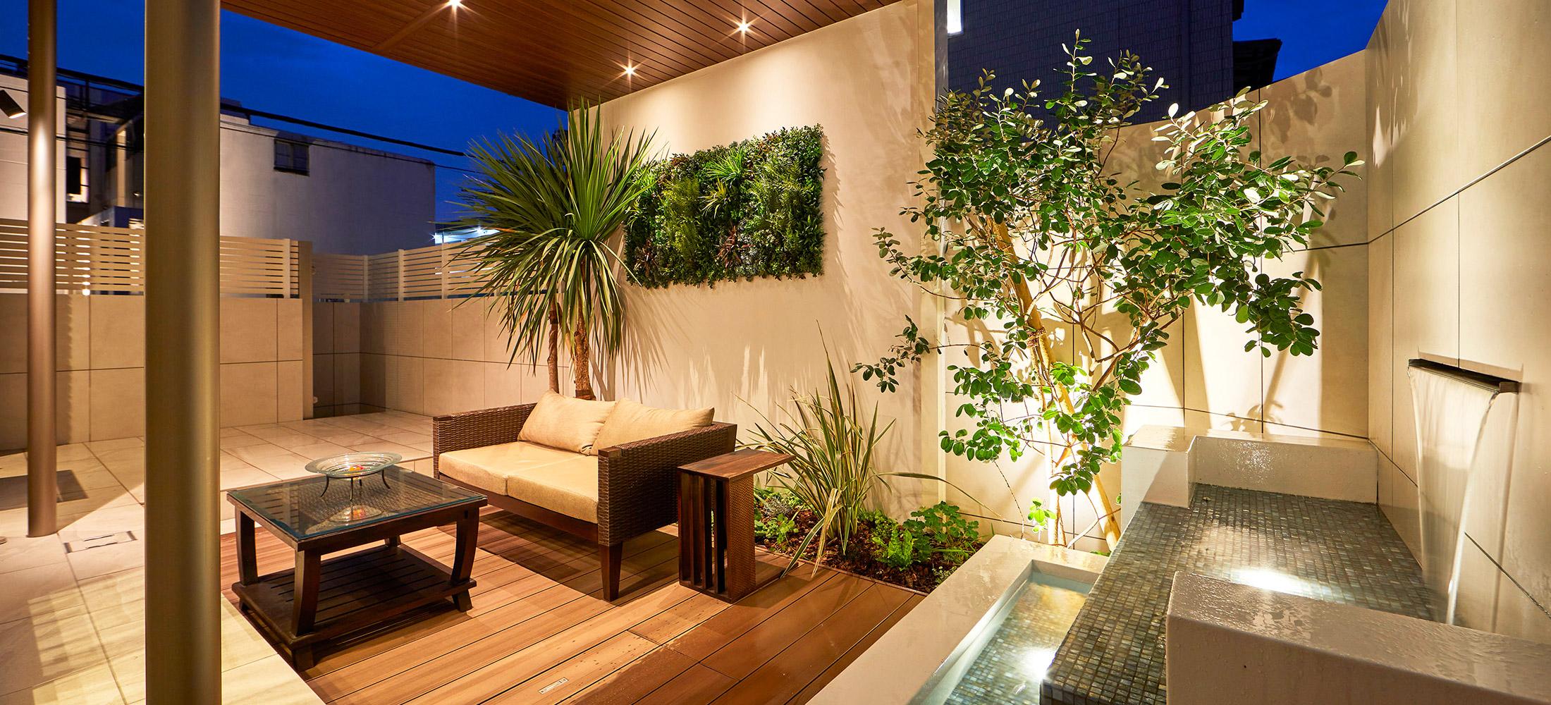 庭をリゾート風のデザインにするための方法とは?
