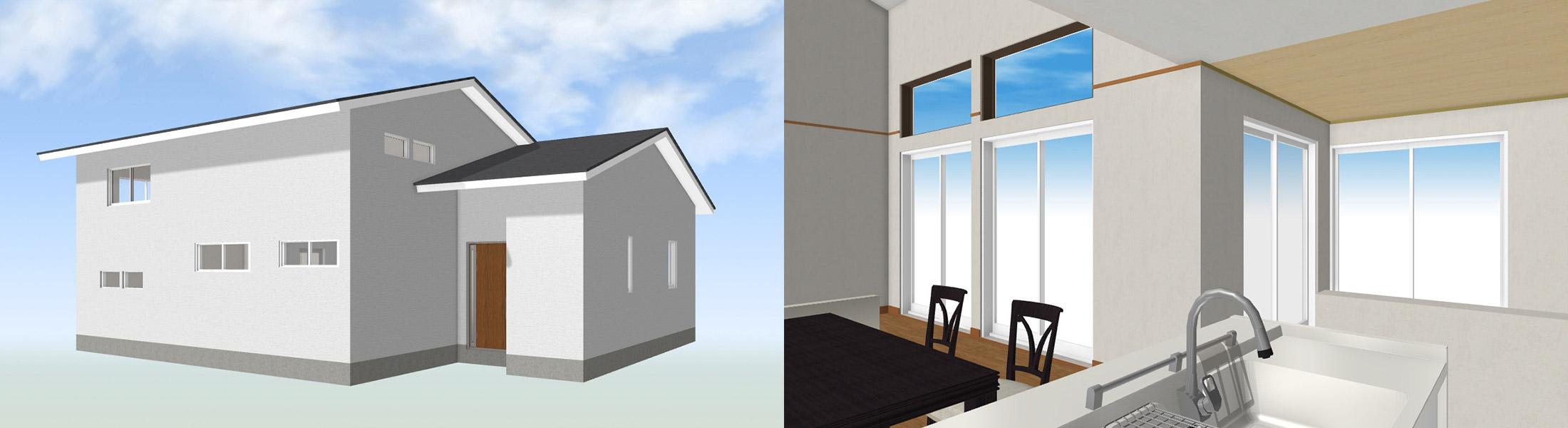 3D立体画像による外構プラン提案とは
