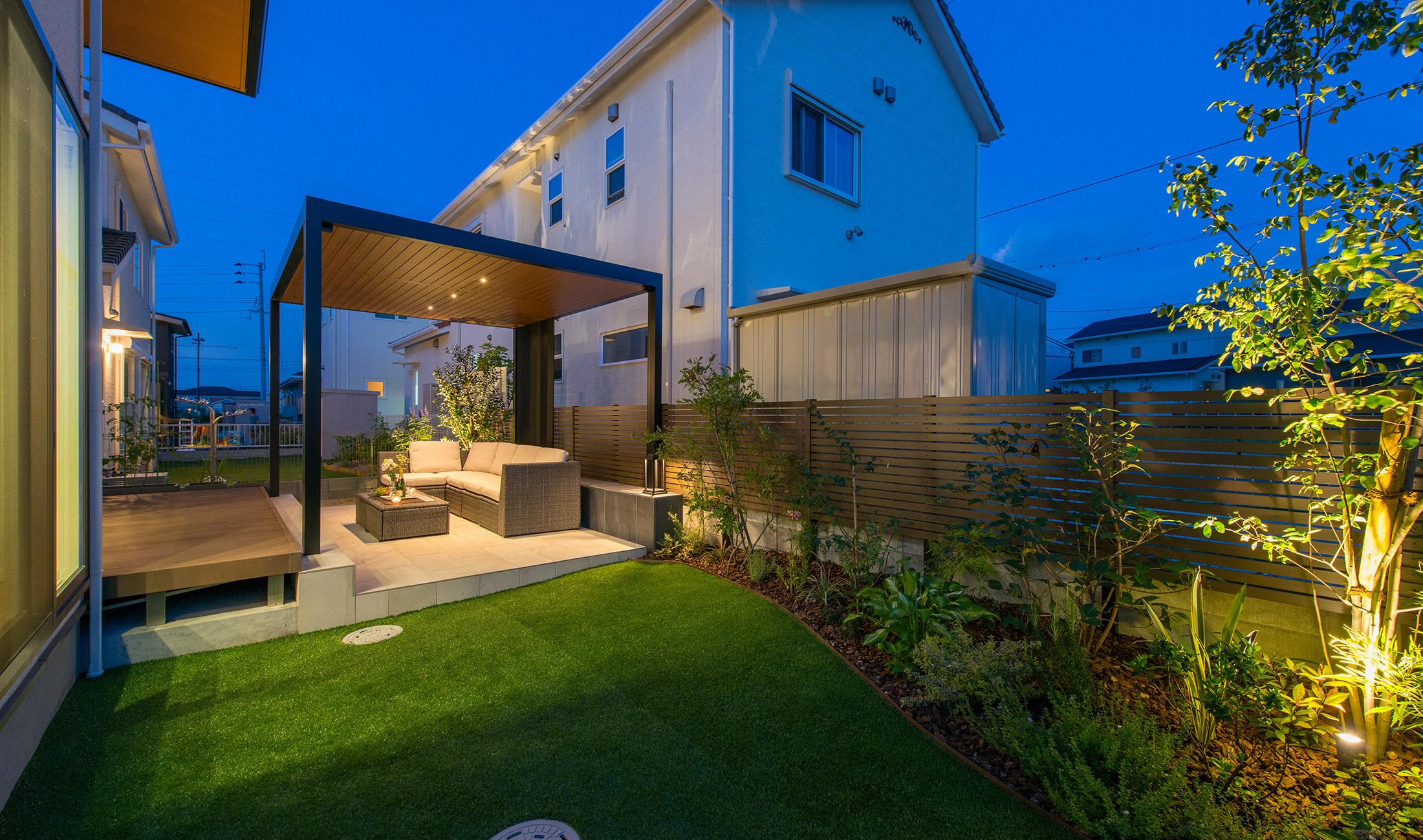 お客様インタビュー 福岡  庭リフォーム「我が家の庭が輝いて見えます!」